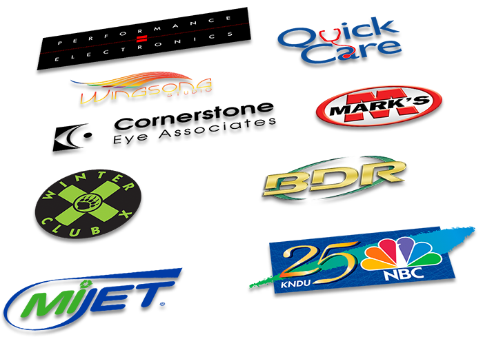 Logos developed by Dyam Design