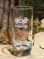 Engraved Executive Water Glass